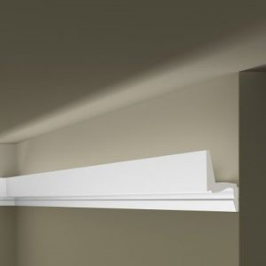 Decorative moldings for indirect lighting